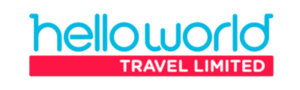 Hello World Travel Logo