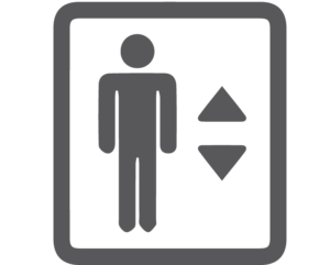 Hallway and Elevator Icon